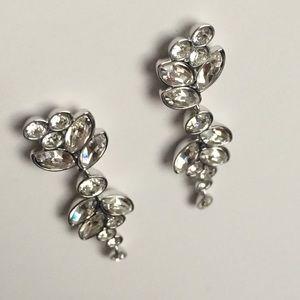 e29367d77 Swarovski Jewelry - Swarovski Diapason Pierced Earrings, White Rhodium